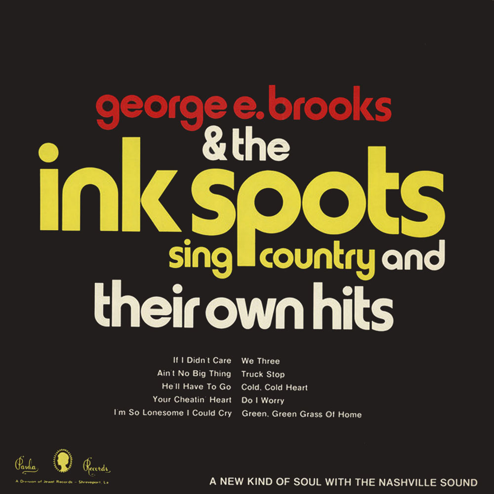 George E. Brooks & The Ink Spots Sing Country and Their Own Hits