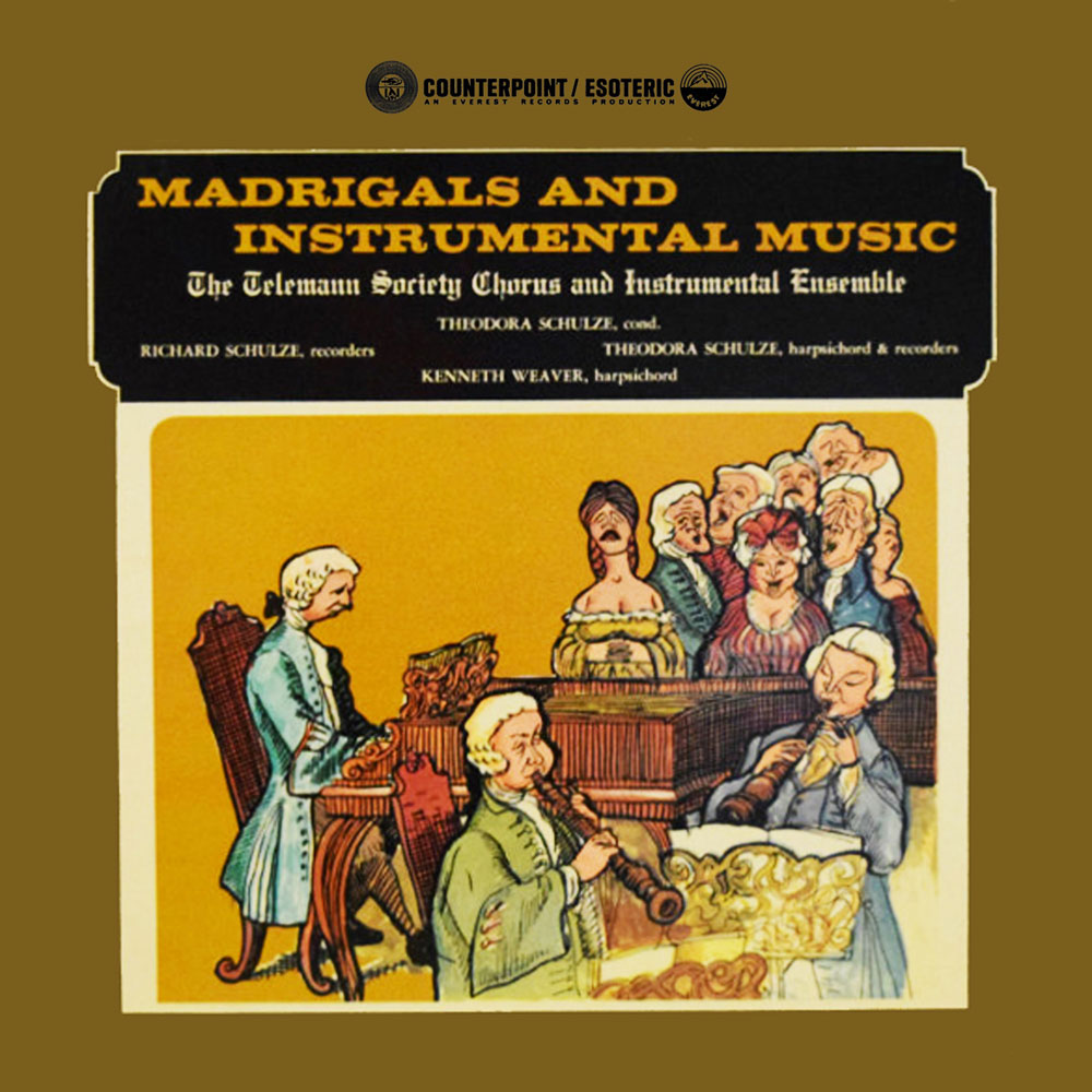 Madrigals And Instrumental Music