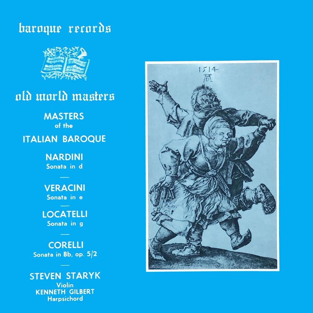 Old World Masters Of Italian Music