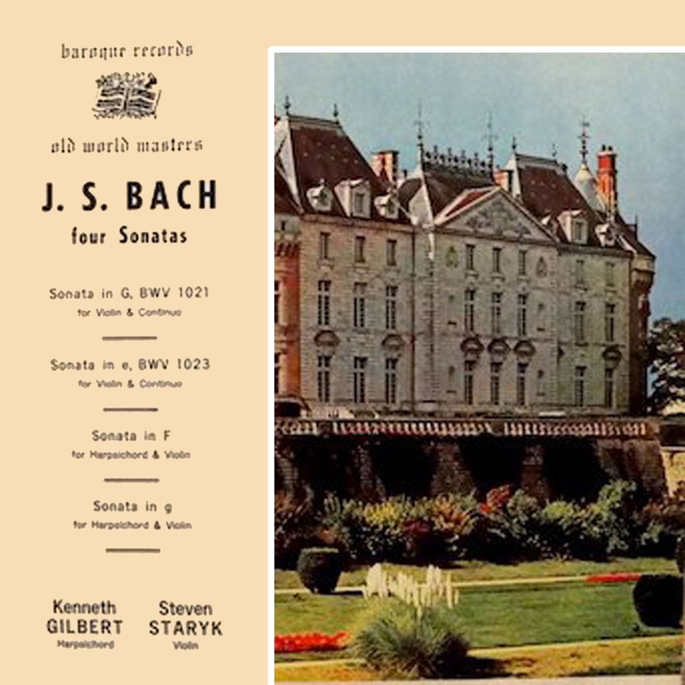J. S. Bach Four Sonatas