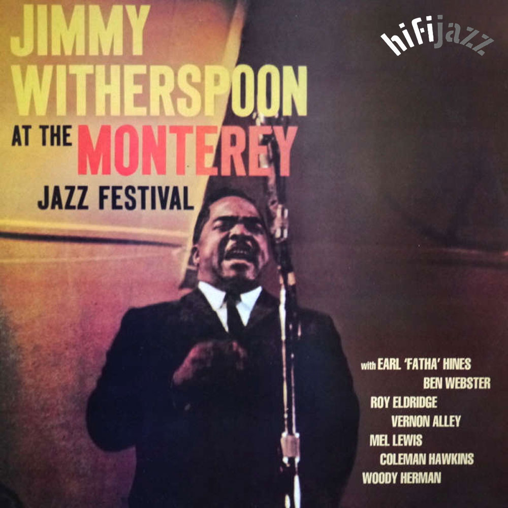 At Montery Jazz Festival