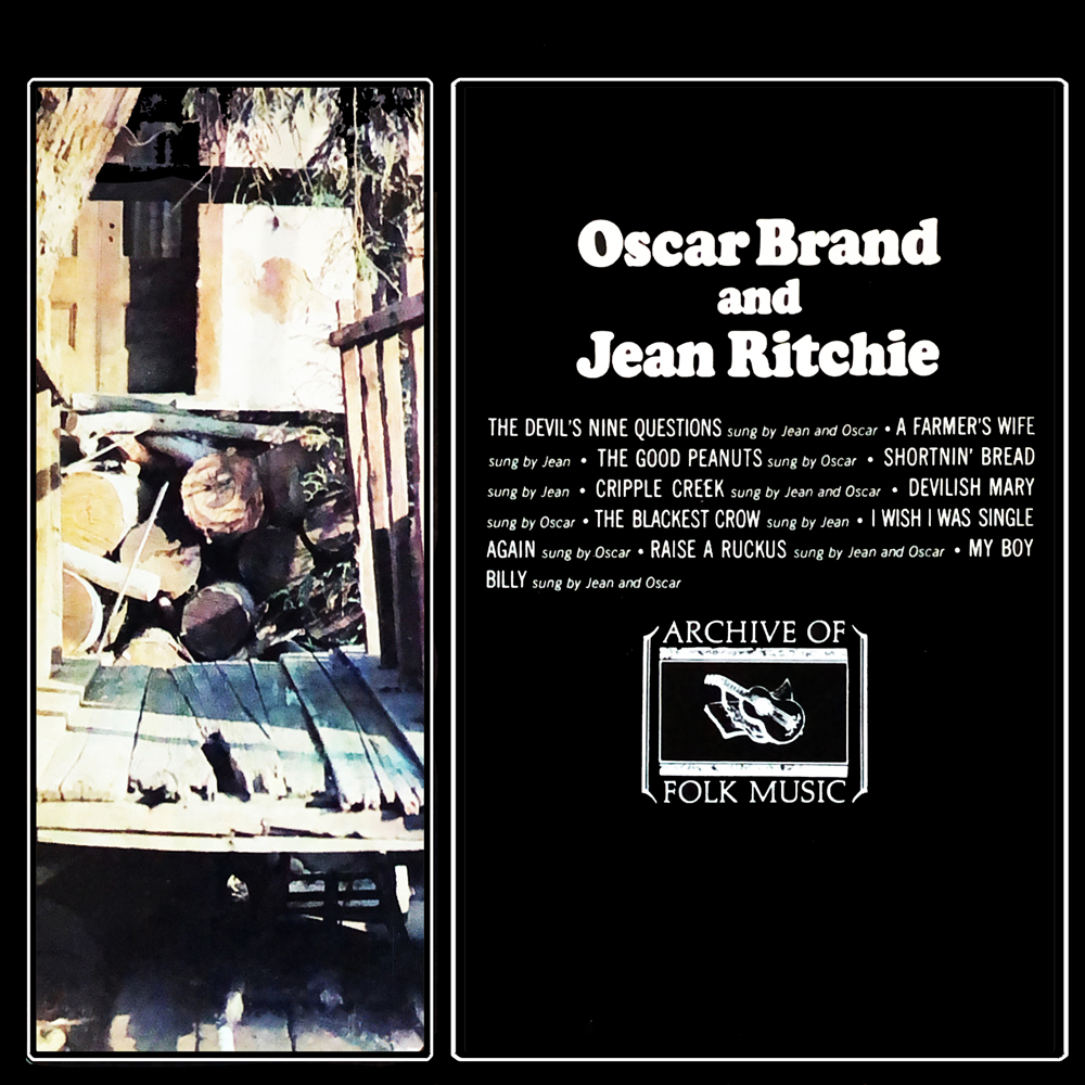Oscar Brand And Jean Ritch