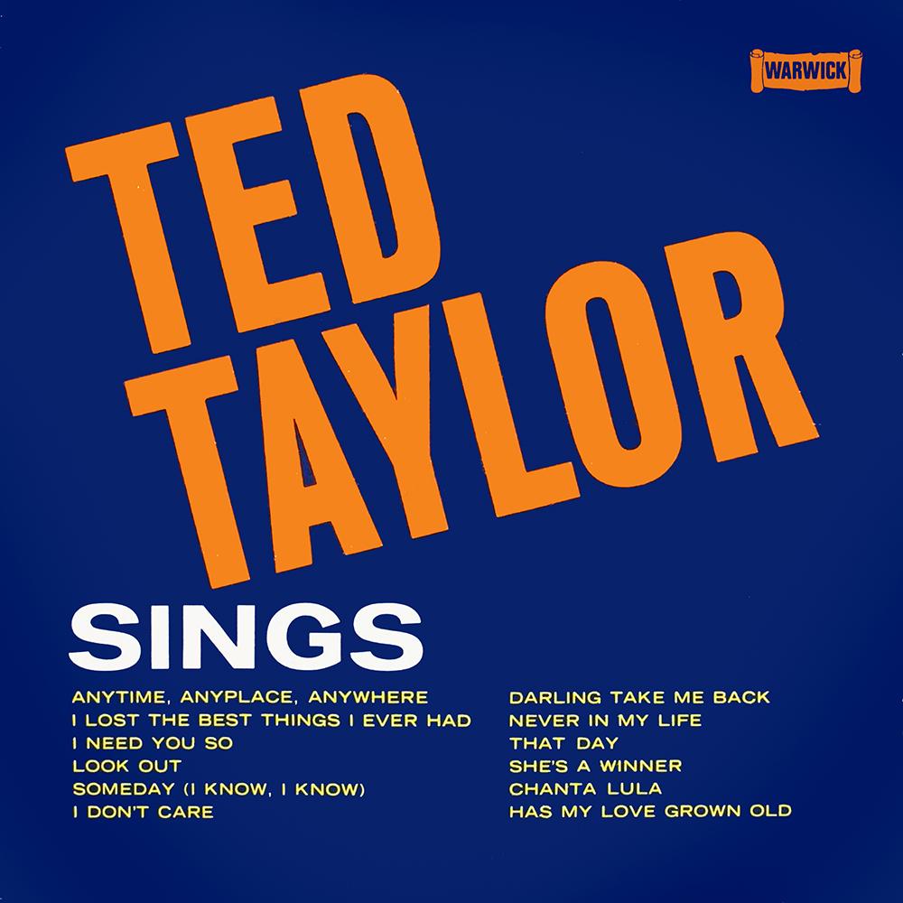 Ted Taylor Sings
