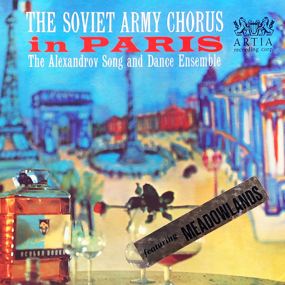 The Soviet Army Chorus In Paris