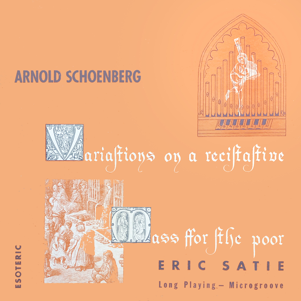 Variations On A Recitative  Mass For The Poor