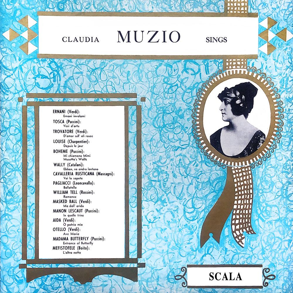 Claudia Muzio Sings