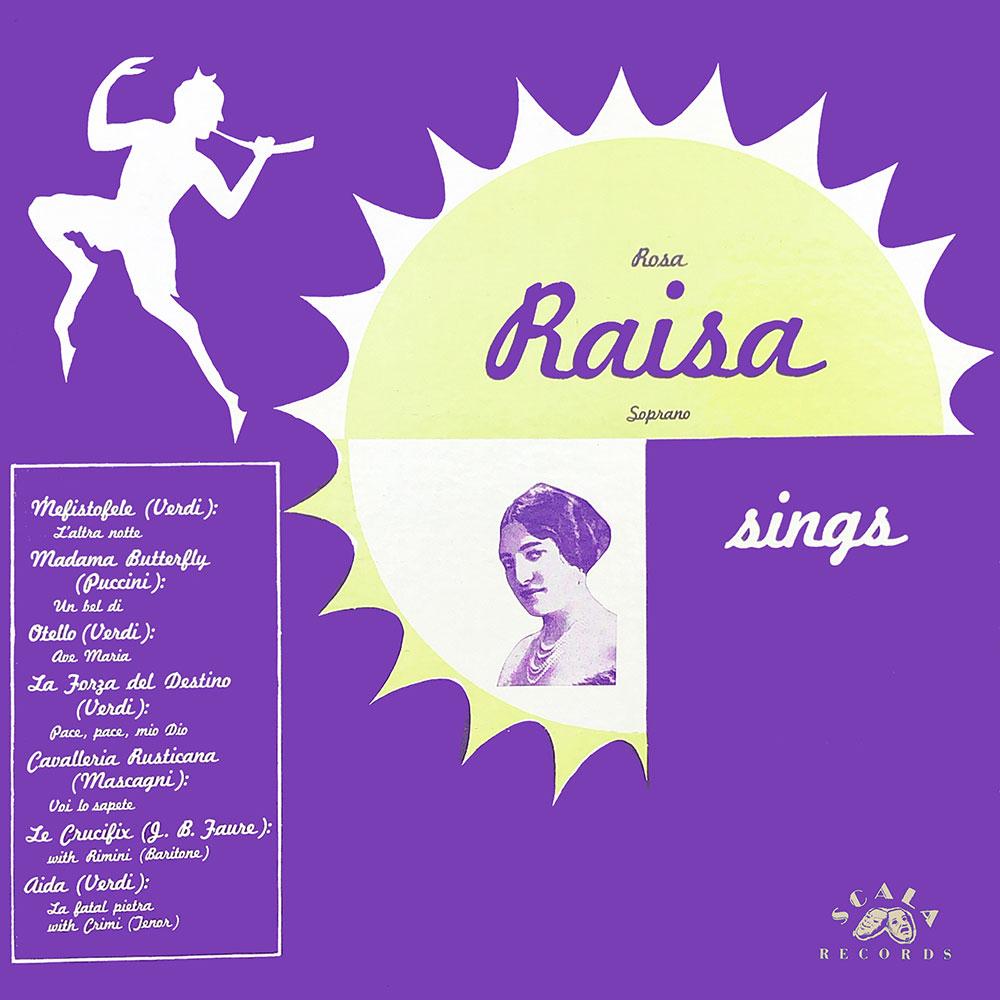 Rosa Raisa Sings