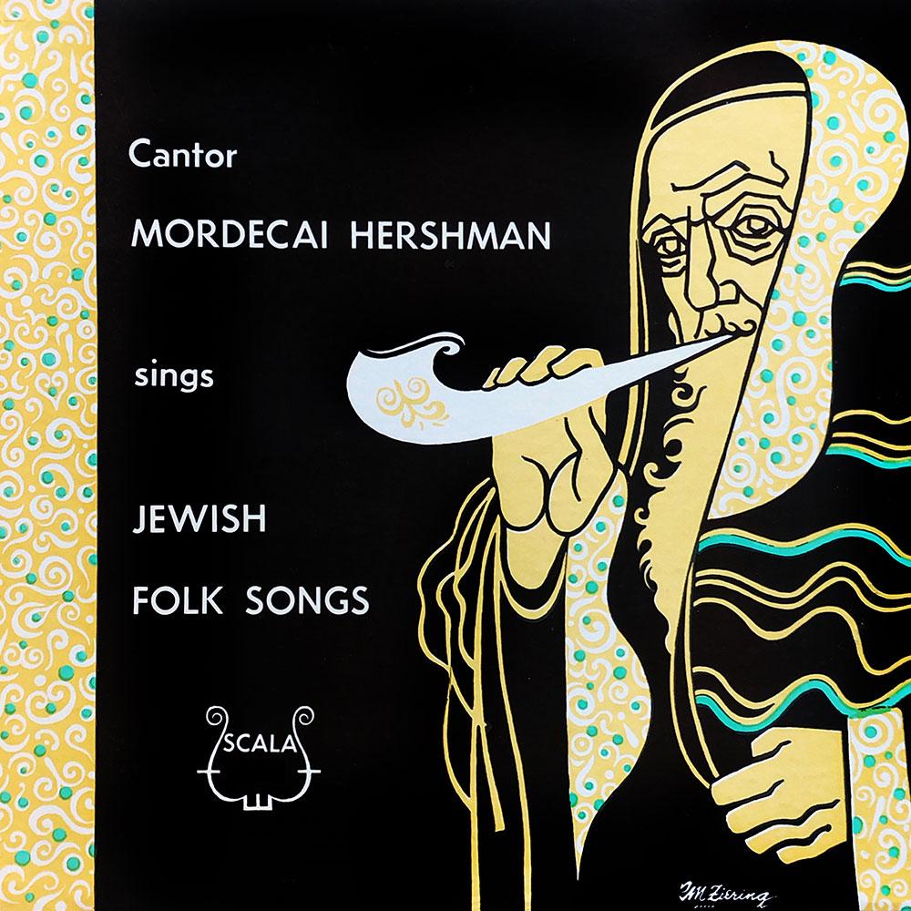 Cantor Mordecai Hershman Sings Jewish Folk Songs