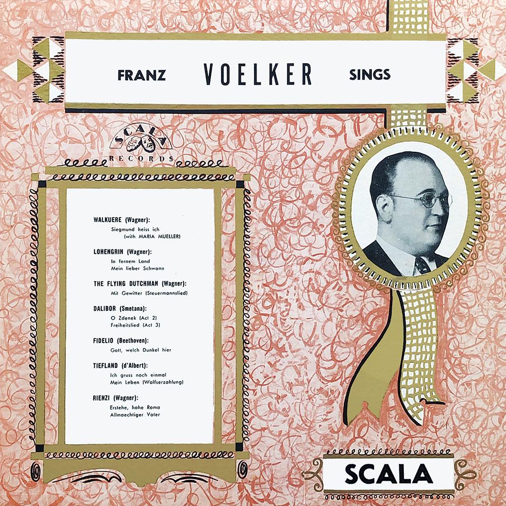 Franz Voelker Sings